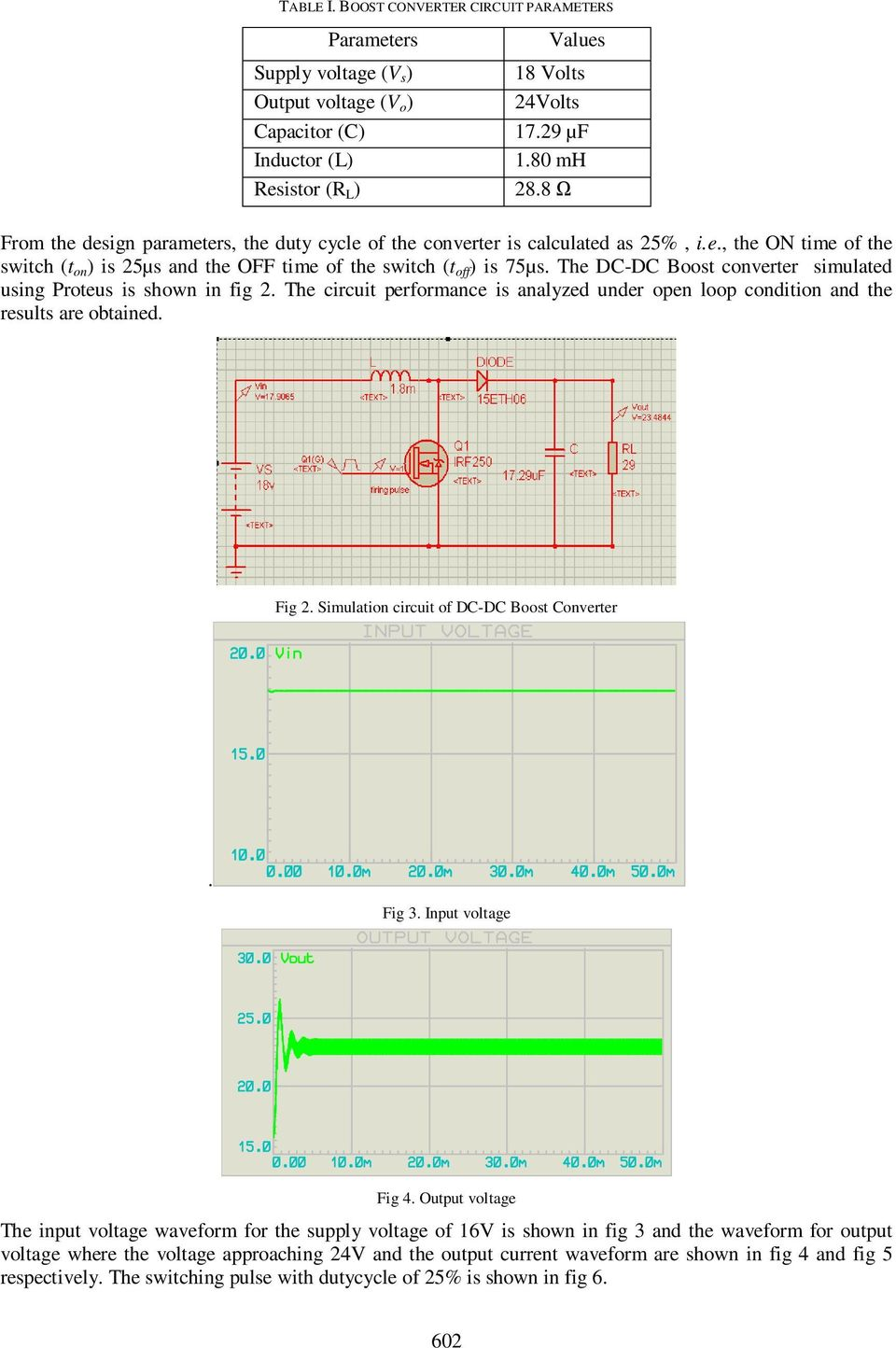 Design Simulation And Analysis Of Microcontroller Based Dc Boost Proteus Circuit The Converter Simulated Using Is Shown In Fig 2