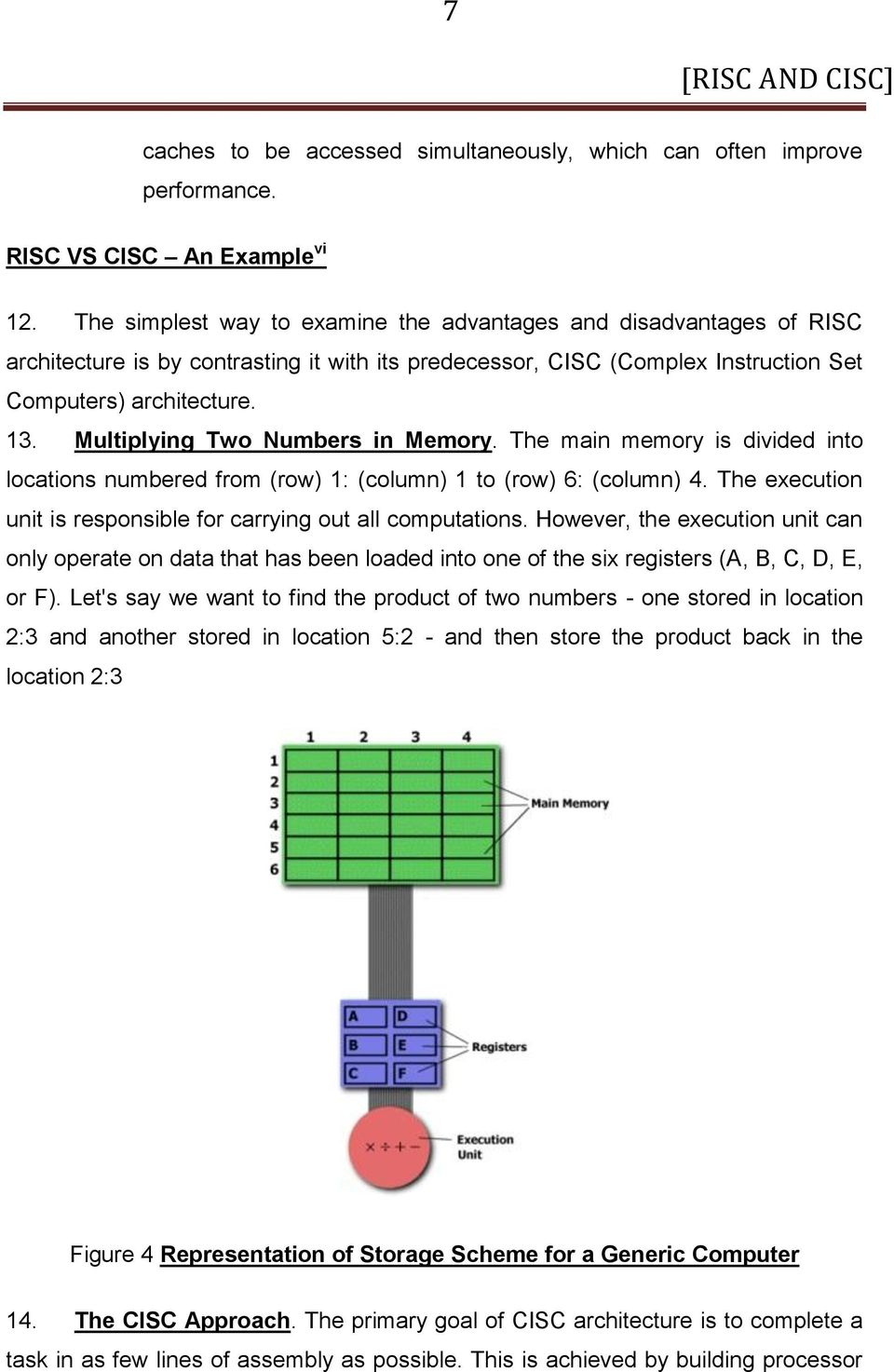 RISC AND CISC  Computer Architecture  Farhat Masood BE