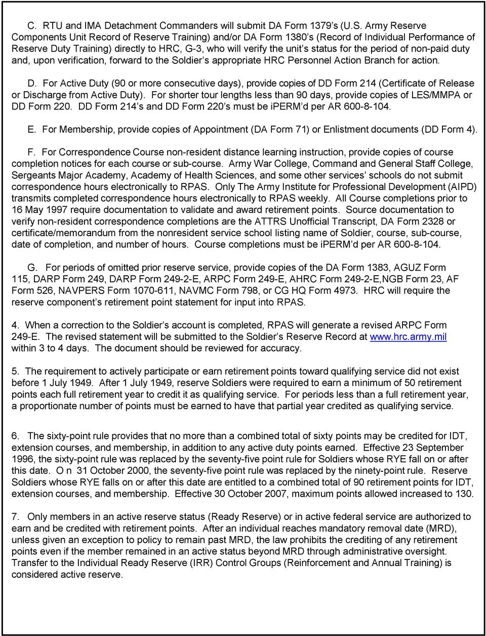 Important Information Concerning Your Retired Pay Application Pdf