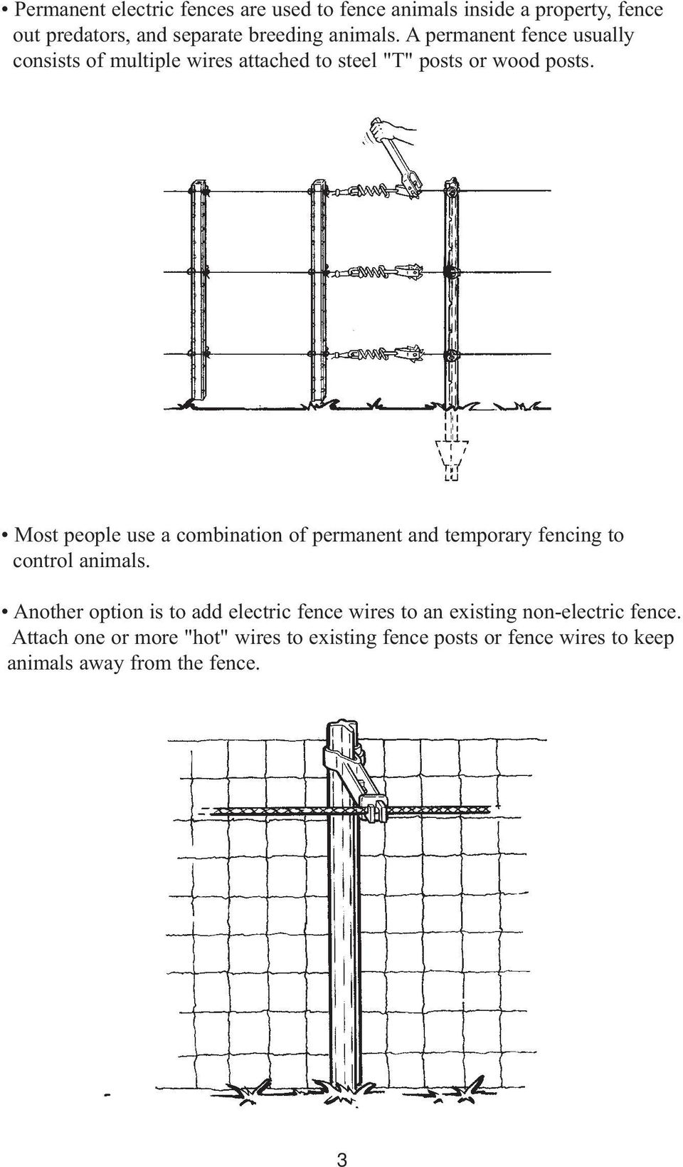 Electric Fencing Made Easy Pdf Wiring Diagram Fence Energiser Most People Use A Combination Of Permanent And Temporary To Control Animals