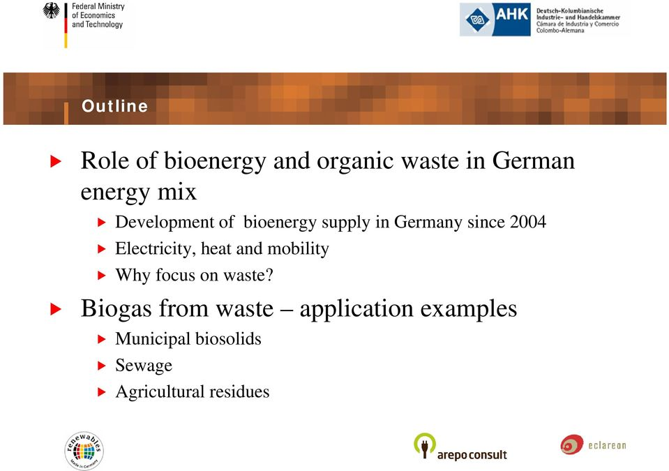 Electricity, heat and mobility Why focus on waste?