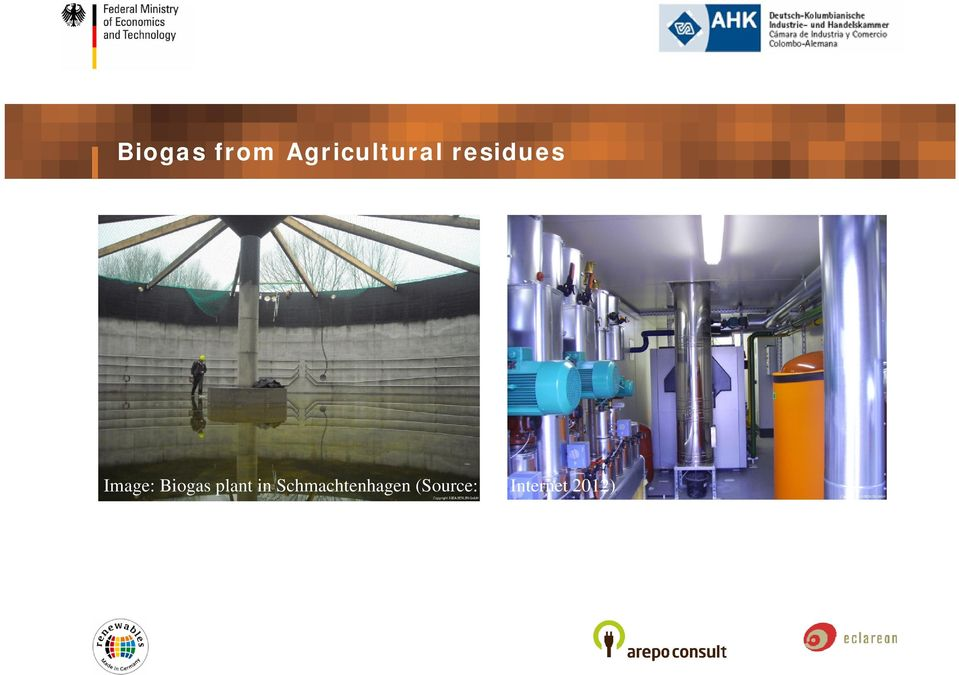 Image: Biogas plant in
