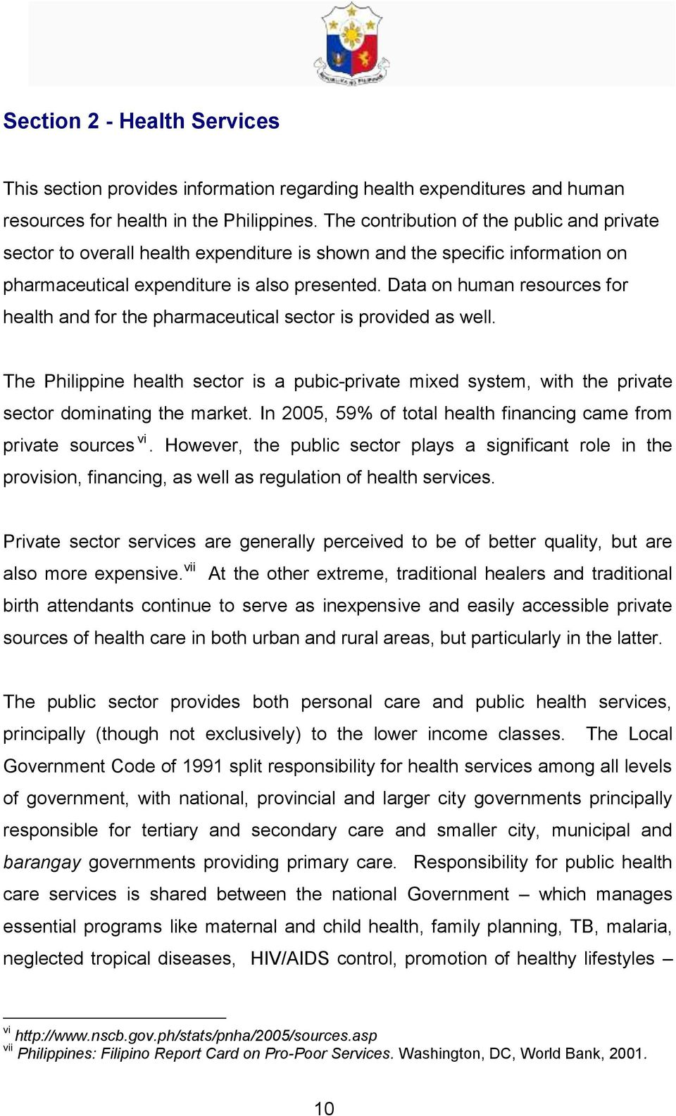 PHILIPPINES PHARMACEUTICAL COUNTRY PROFILE - PDF