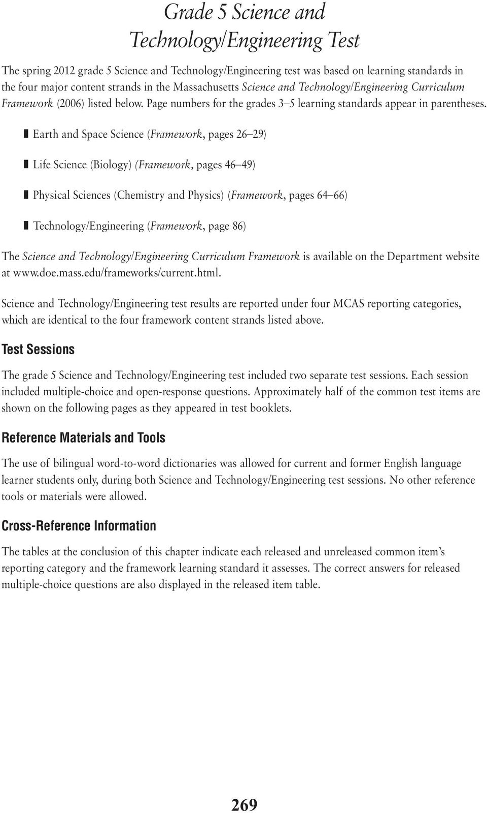 XVI  Science and Technology/Engineering, Grade 5 - PDF