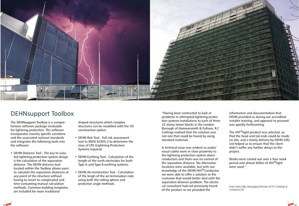 Isolated Lightning Protection Systems & HVI Conductor - PDF