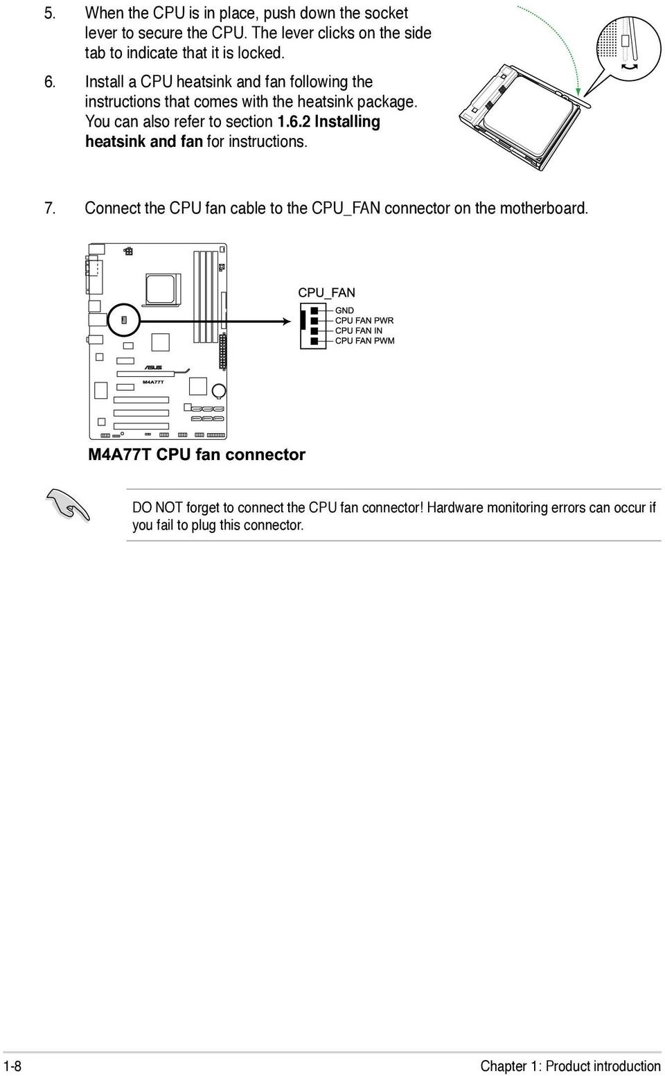 E5248 First Edition V1 December Pdf Compaq Hp Oem P4sd Front Panel Wiring Diagram 7 Connect The Cpu Fan Cable To Connector On Motherboard Do