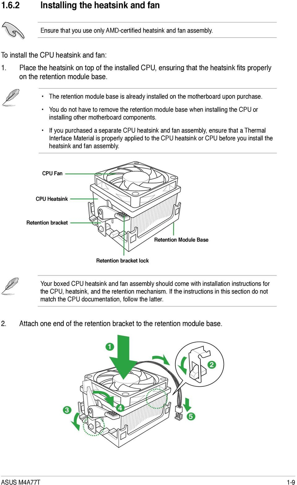 E5248 First Edition V1 December Pdf Compaq Hp Oem P4sd Front Panel Wiring Diagram You Do Not Have To Remove The Retention Module Base When Installing Cpu Or