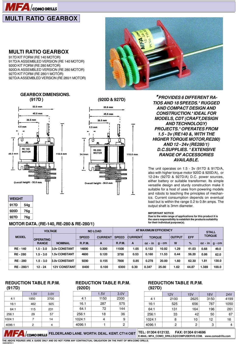 Low Voltage Dc Motors Gearbox Units Pdf Tarp Gear Motor 12 Volt Wiring Diagram Ideal For S Cdt Craftdesign And Technology Projects