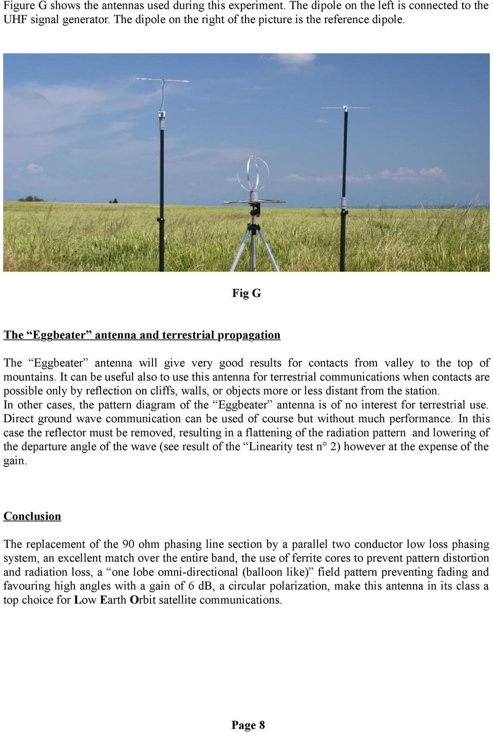 The VHF / UHF «Eggbeater» Antenna ~ Revisited ~ - PDF