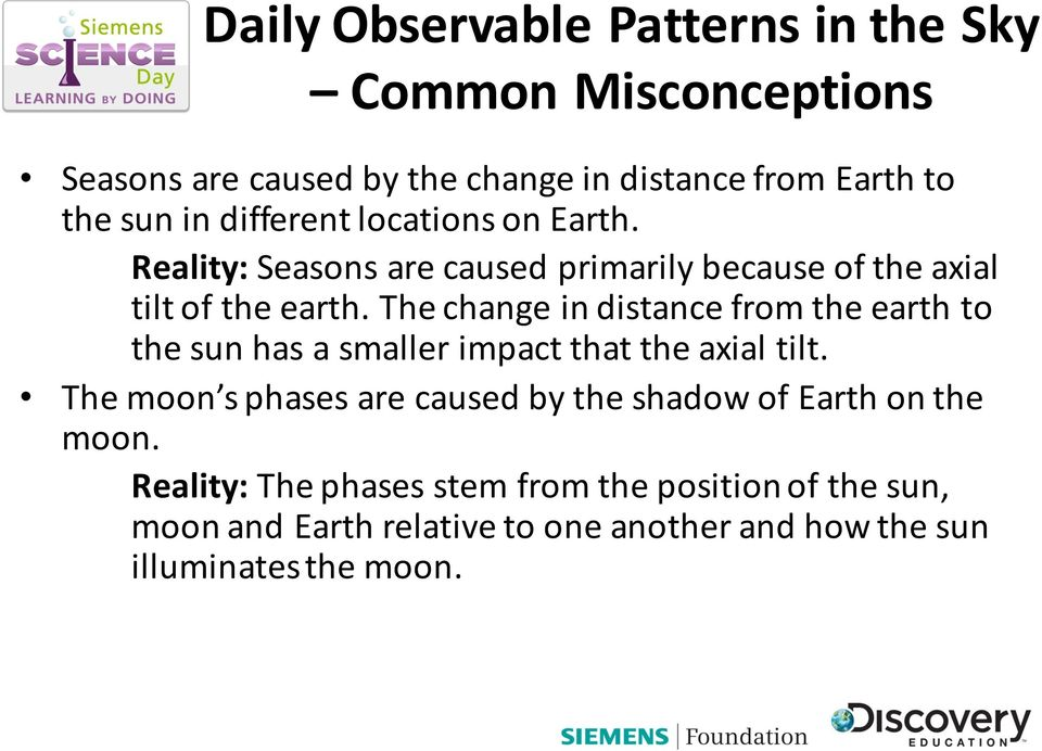 The change in distance from the earth to the sun has a smaller impact that the axial tilt.