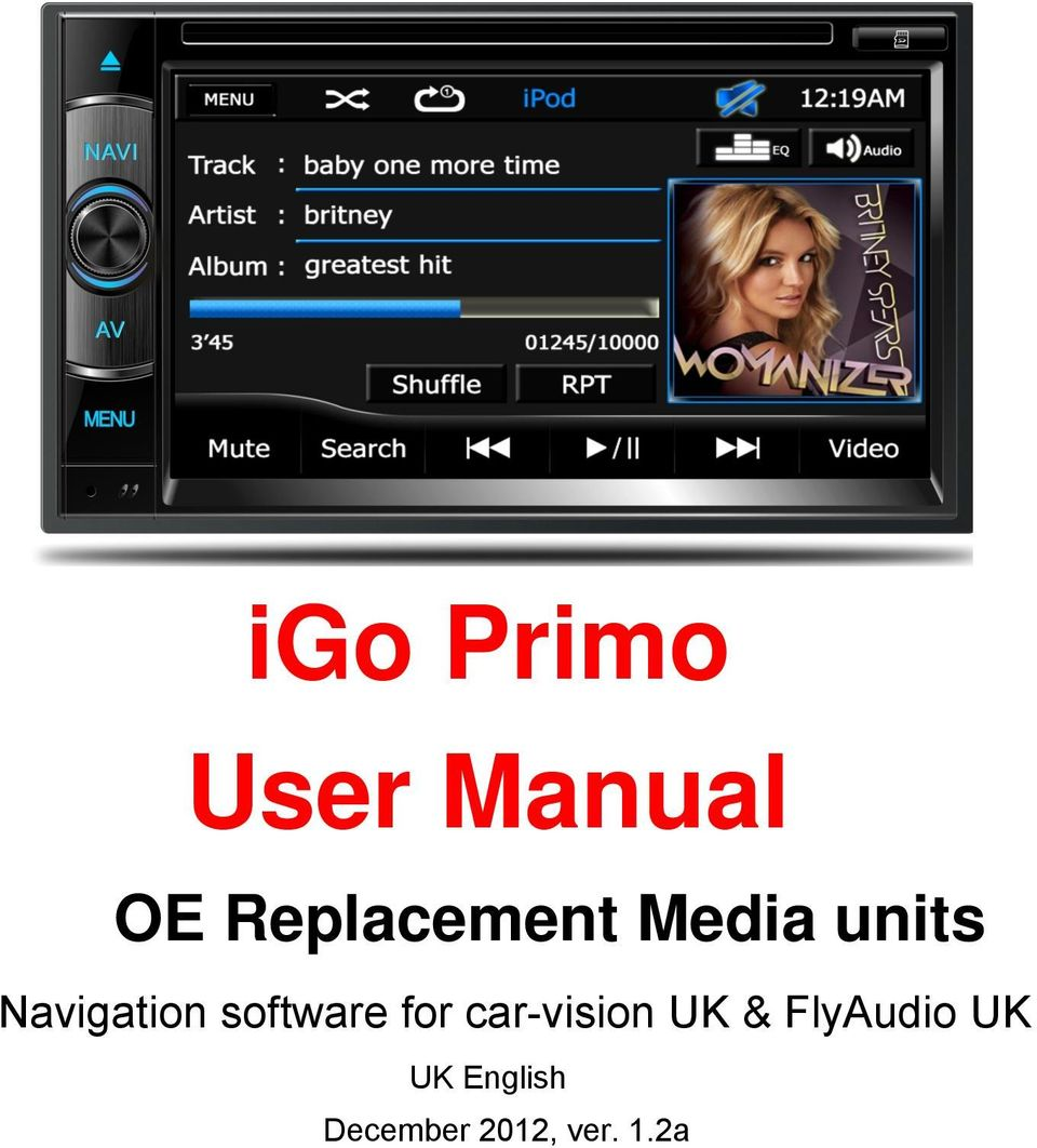 Navigation software for