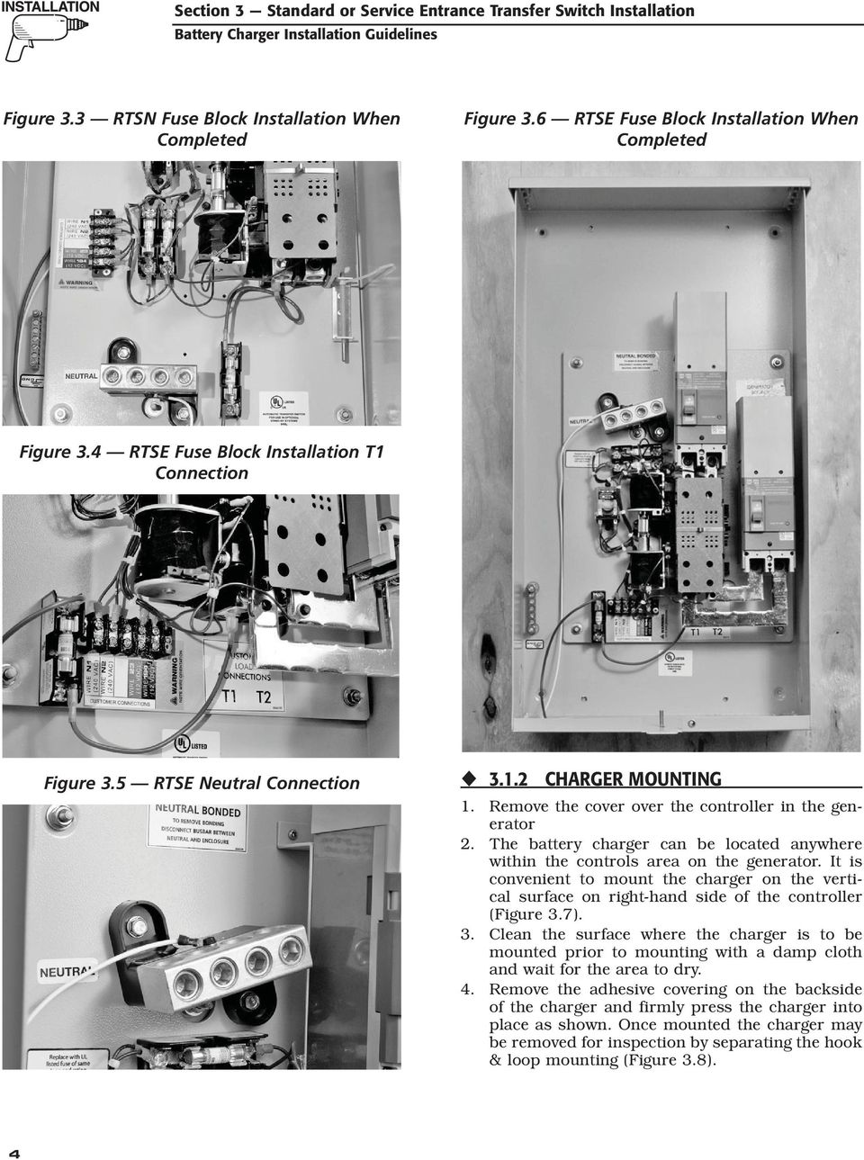 Air Cooled Generator Battery Charger Installation Guidelines Pdf Layout For 2008 Fuse Box The Can Be Located Anywhere Within Controls Area On It