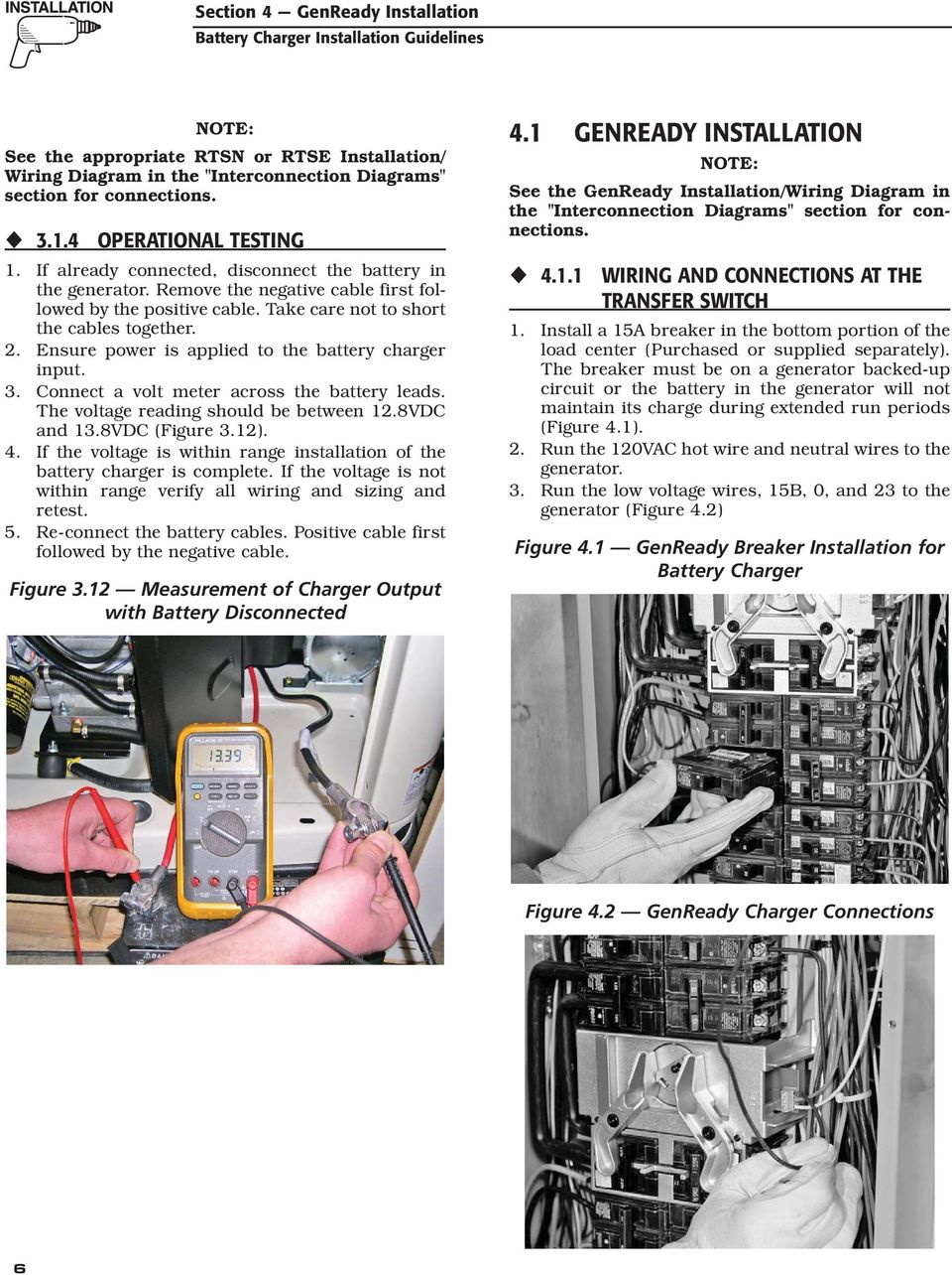 Air-cooled Generator Battery Charger Installation Guidelines - PDF on 12 volt 3 battery diagram, battery bank for solar panels, batteries in series diagram, battery bank transformer, battery bank connectors, battery to starter diagram, battery bank parts, battery bank voltage, battery for wind turbine, battery bank cover, battery bank charger, battery bank switch, 12 volt battery equalization diagram, battery bank box, battery cable connectors, battery bank assembly, battery charger schematic diagram, battery bank cabinet, 24 volt battery diagram, solar battery bank diagram,
