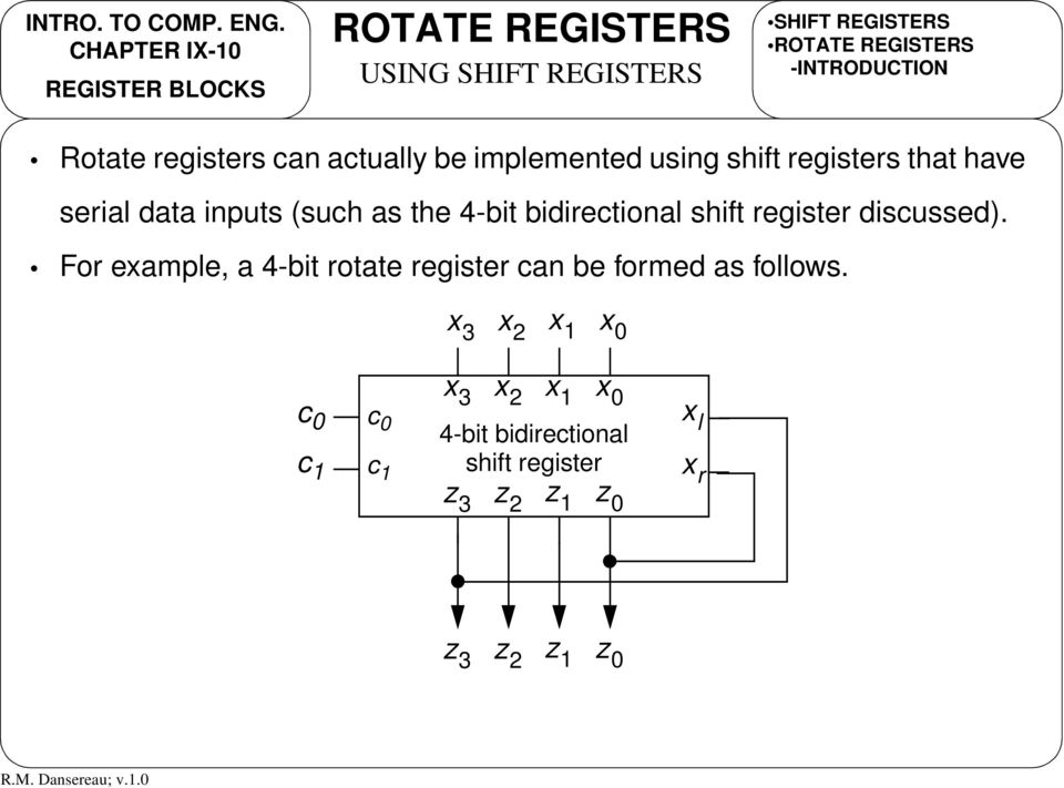 as the 4-bit bidirectional shift register discussed).