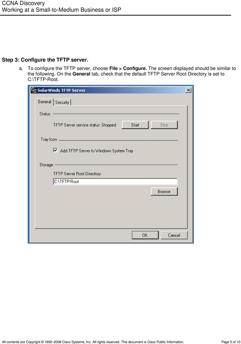 Lab 8 4 3a Managing Cisco IOS Images with TFTP - PDF