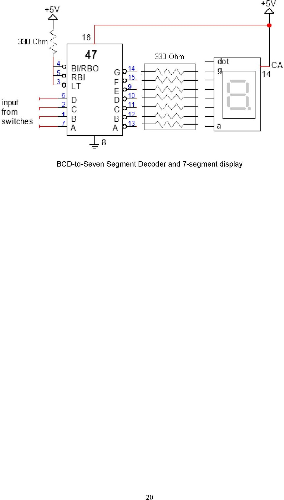 Digital Systems Laboratory Pdf In The Circuit Above Using Seven Segment 7 Commond Anode Type 21 2011 Lab 6 Adders Subtractors Objectives To Construct And Test Various Subtractor Circuits