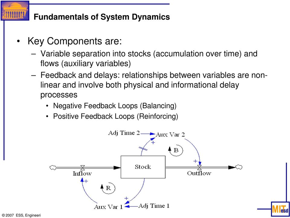 relationships between variables are nonlinear and involve both physical and