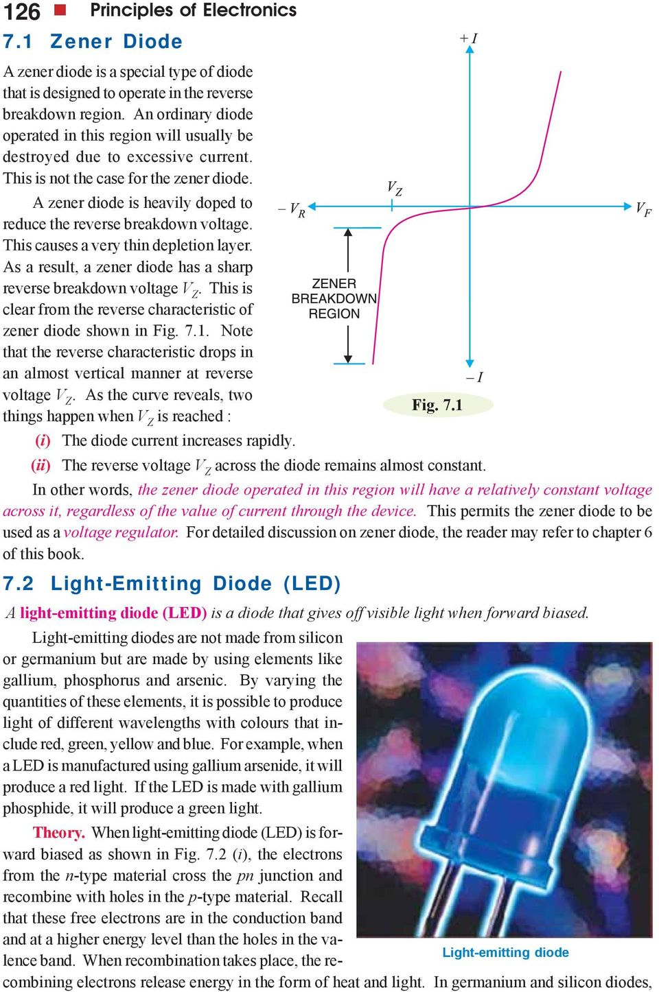 Special Purpose Diodes Pdf Limit The Current But How So And Why Do We Need It For A Zener Diode Is Heavily Doped To Reduce Reverse Breakdown Voltage This Causes