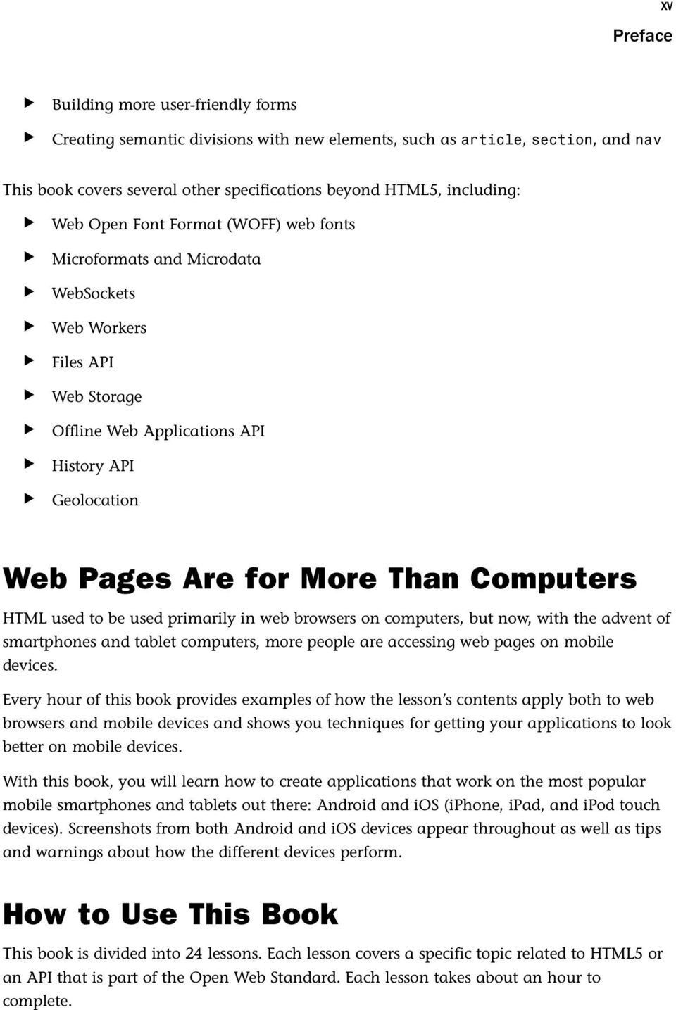 Geolocation Web Pages Are For More Than Computers HTML Used To Be Primarily In