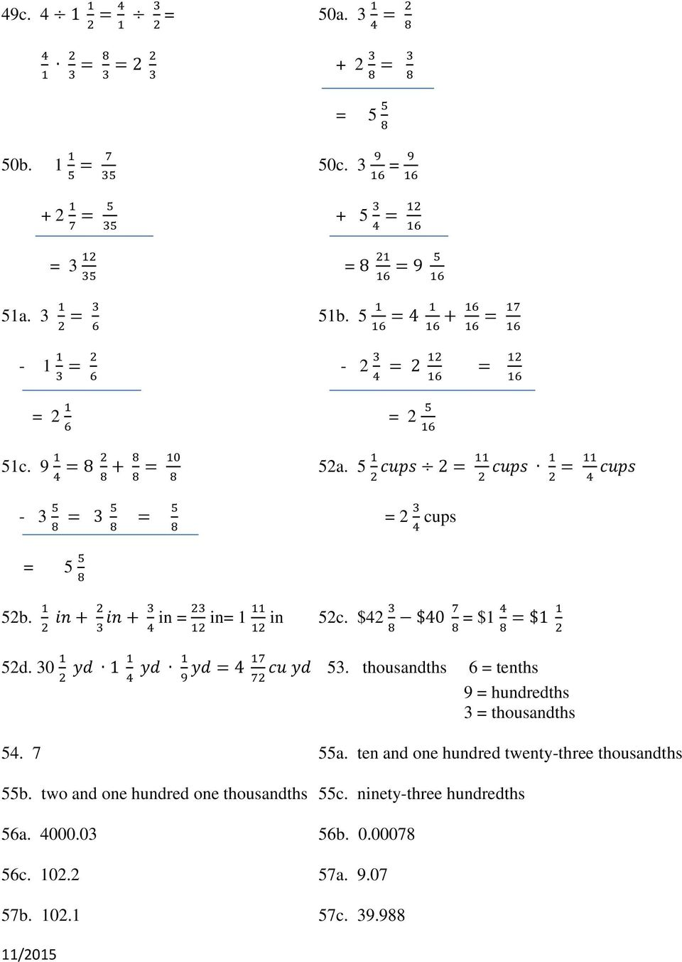 REVIEW SHEETS BASIC MATHEMATICS MATH PDF