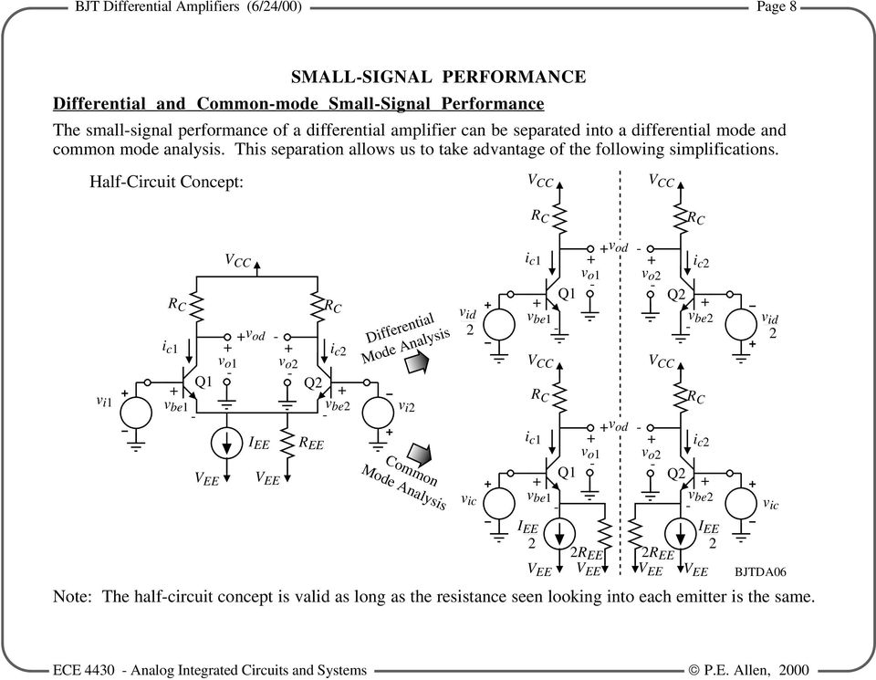 3 4 - BJT DIFFERENTIAL AMPLIFIERS - PDF