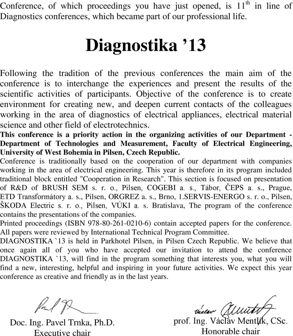 Diagnostika 13 Conference On Diagnostics In Electrical Engineering How To Wire Ethernet Cables Download As Powerpoint By Fjzhangweiqun Participants