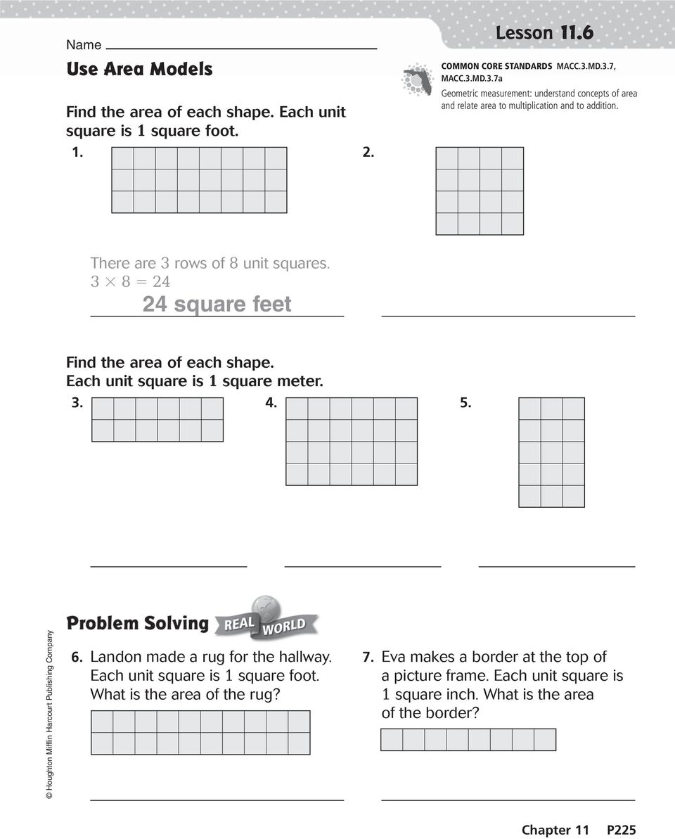 Use addition  Find the perimeter of the rectangle  Perimeter