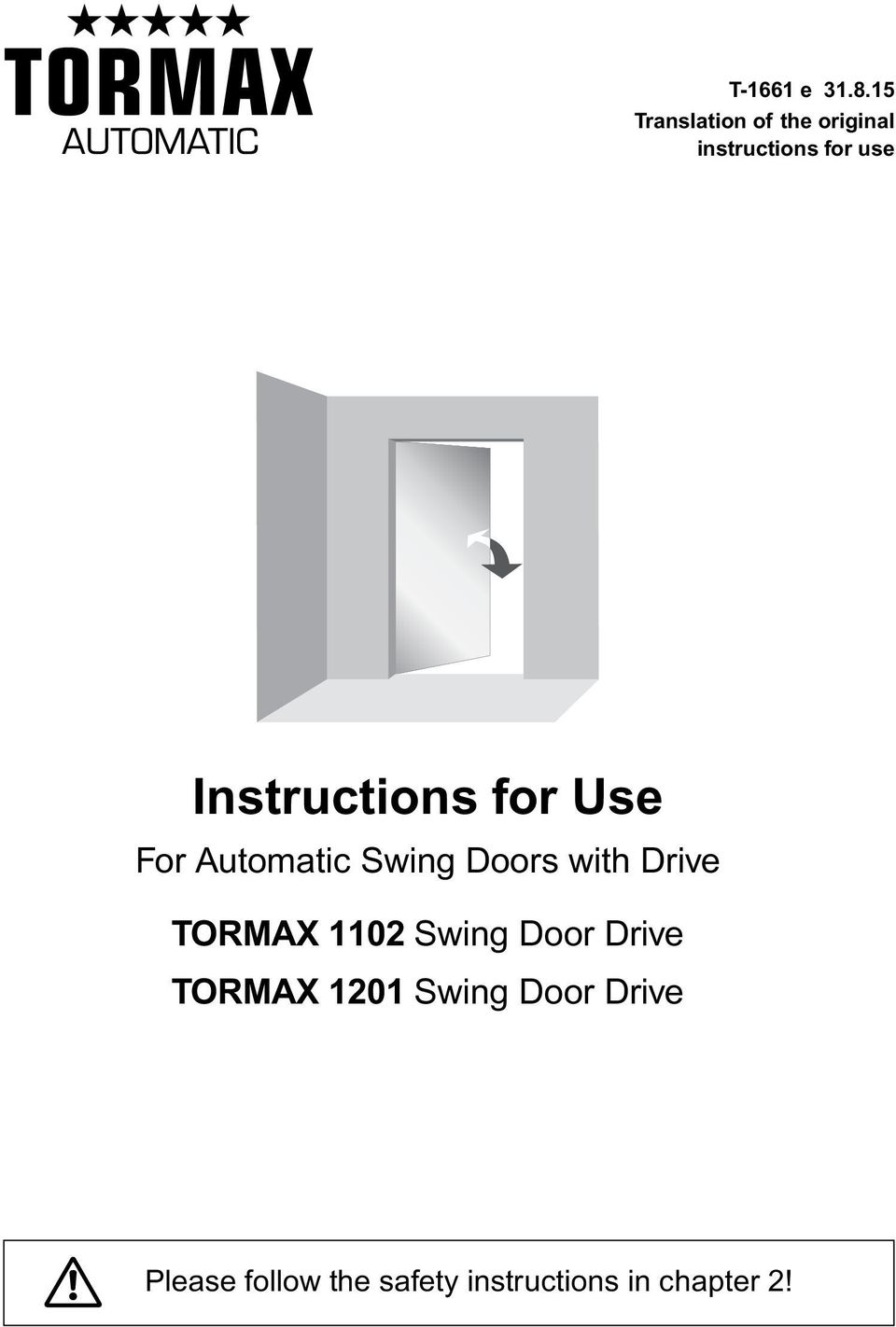 Tormax 1201 Wiring Diagram Trusted Diagrams Instructions For Use Pdf