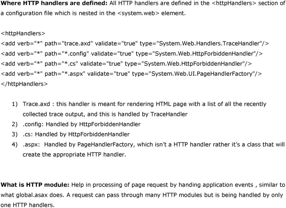 Create you first HTTP Handler in ASP NET PDF