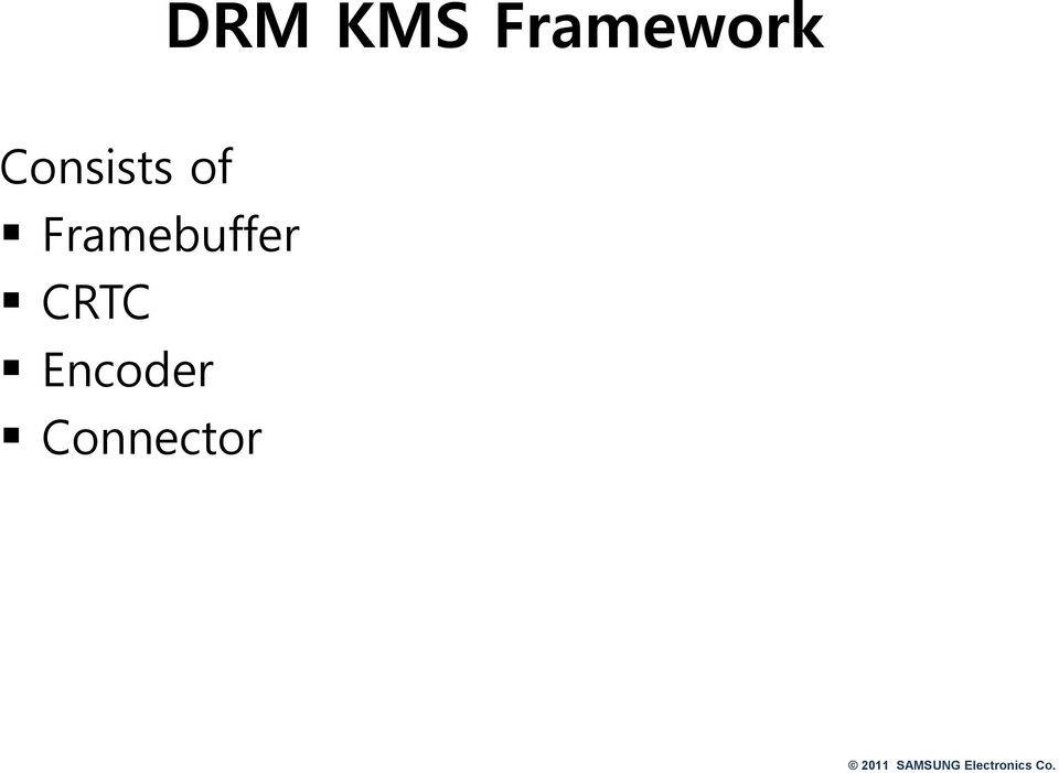 DRM Driver Development For Embedded Systems - PDF