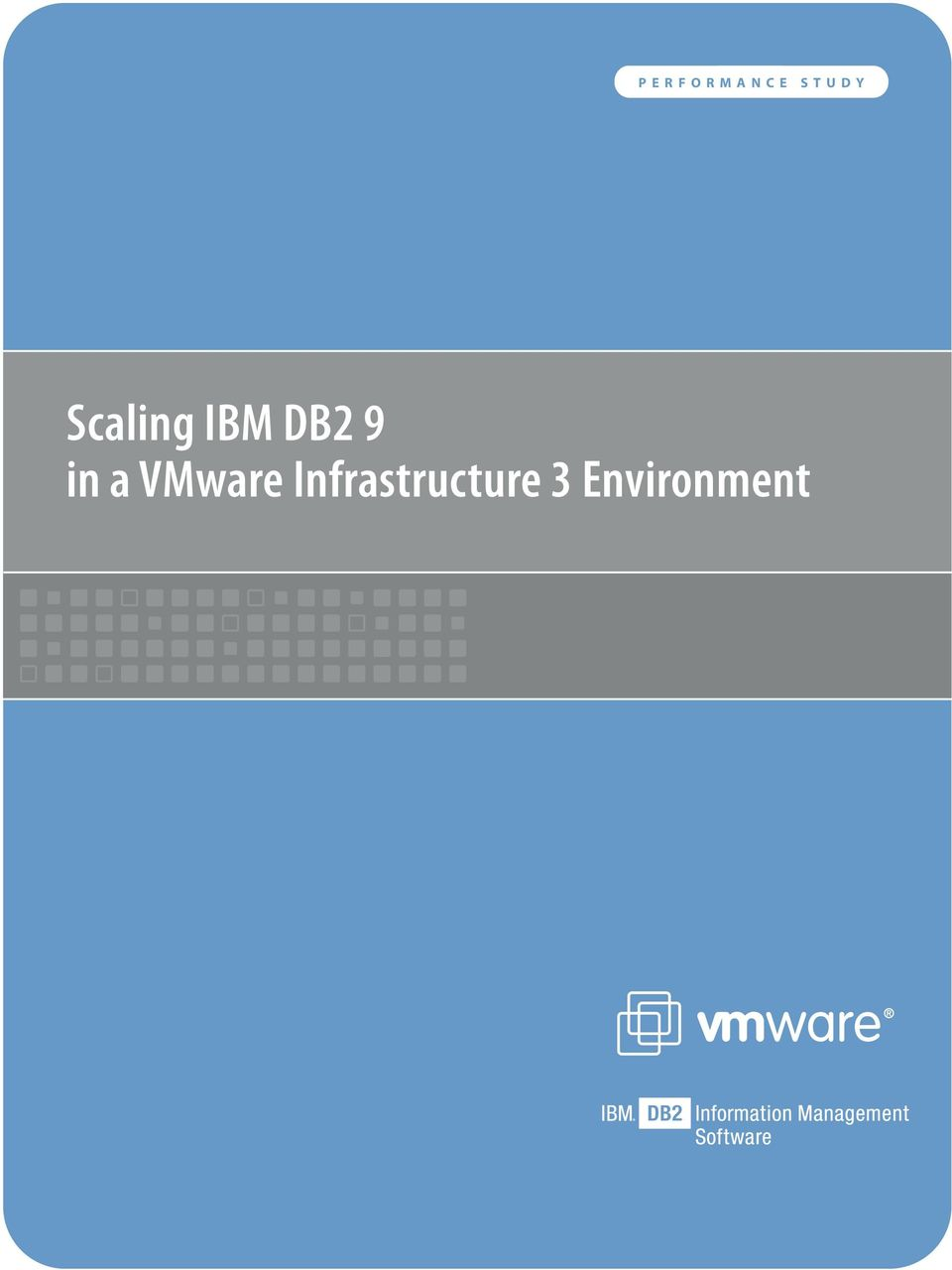 DB2 9 in a VMware