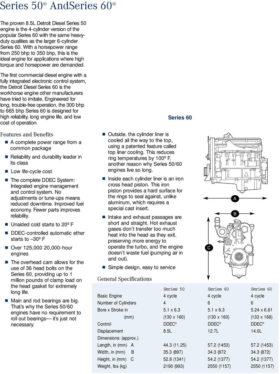 Diesel Engine Series 50 and 60 for Petroleum Applications - PDF
