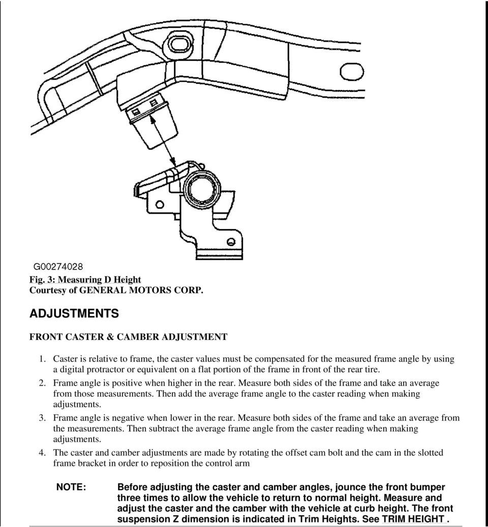 Subaru Legacy: Measuring and adjusting air pressure to achieve proper inflation