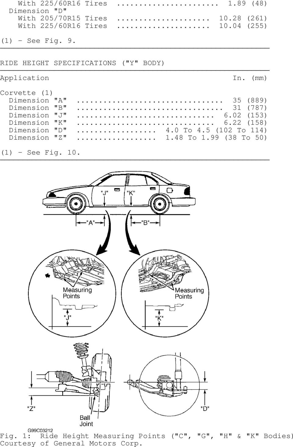 wheel alignment specifications procedures pdf Chevy 4 3V6 Pilot Bearing 31 787 dimension j 6 02 153