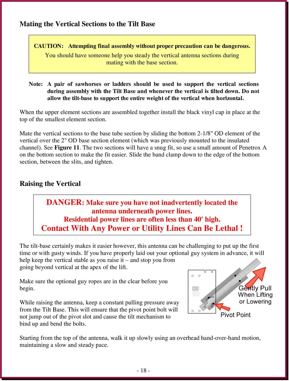 Multi-Band Vertical Antenna 160 through 10 Meters - PDF