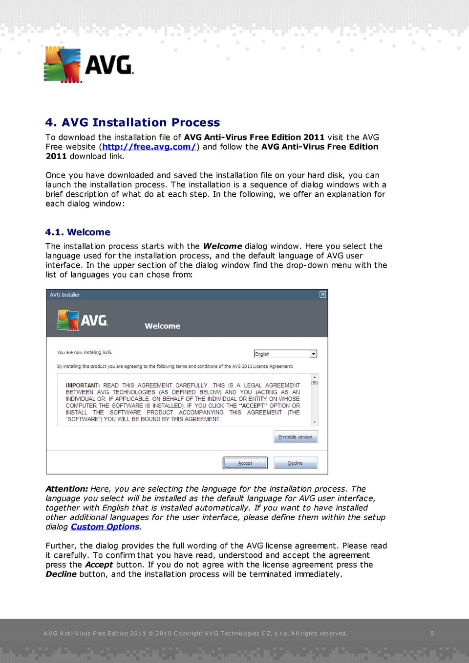 AVG Anti-Virus Free Edition PDF