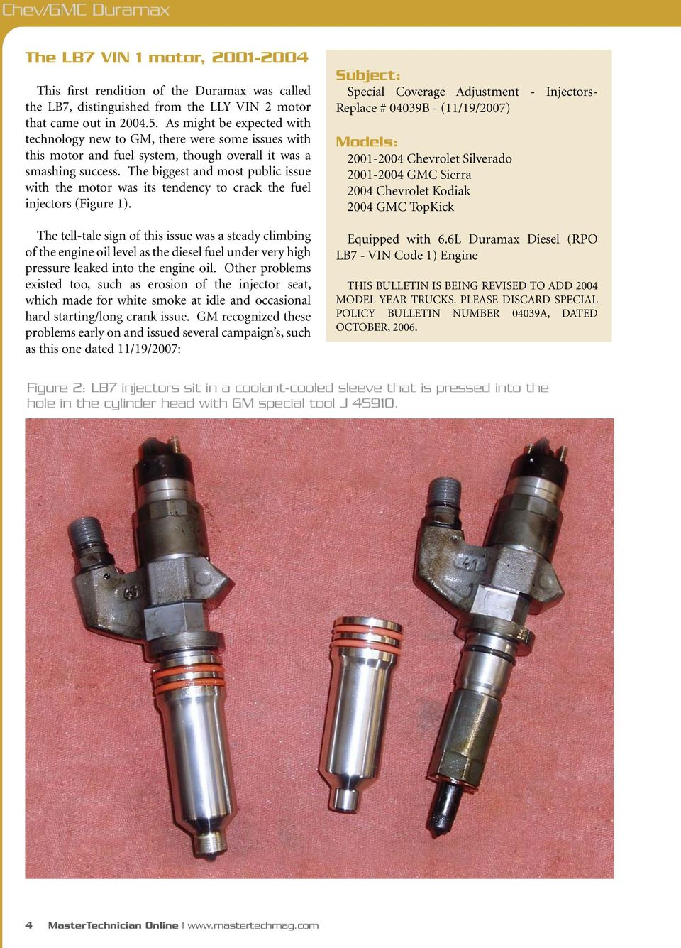 Chev Gmc Duramax Engines Issues Pdf 2004 Fuel Filter Housing The Biggest And Most Public Issue With Motor Was Its Tendency To Crack