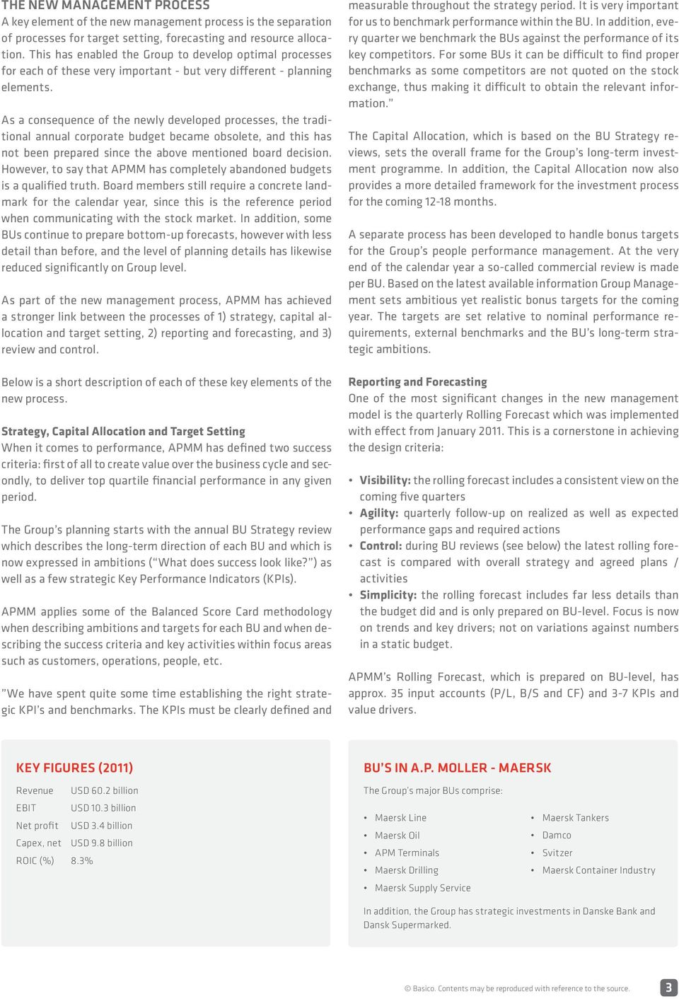 Corporate planning at A P  Moller - Maersk - PDF