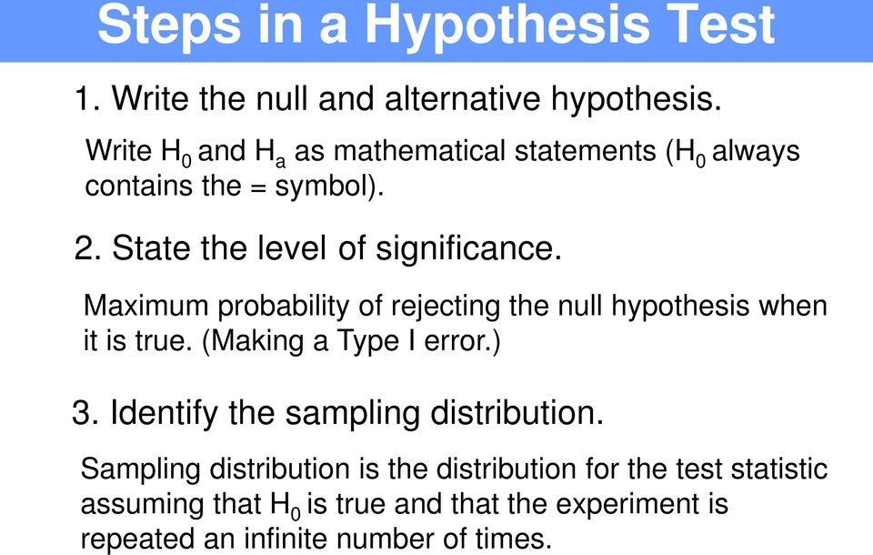 Section 71 Introduction To Hypothesis Testing Schrodinger S Cat