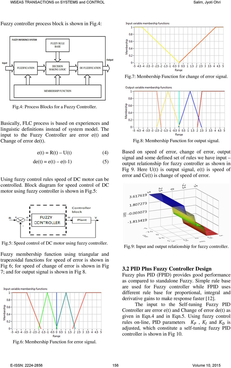 Fuzzy Based Pid Controller For Speed Control Of Dc Motor Using Figure 4 Closed Loop Brushless Circuit With The Et Rt Ut