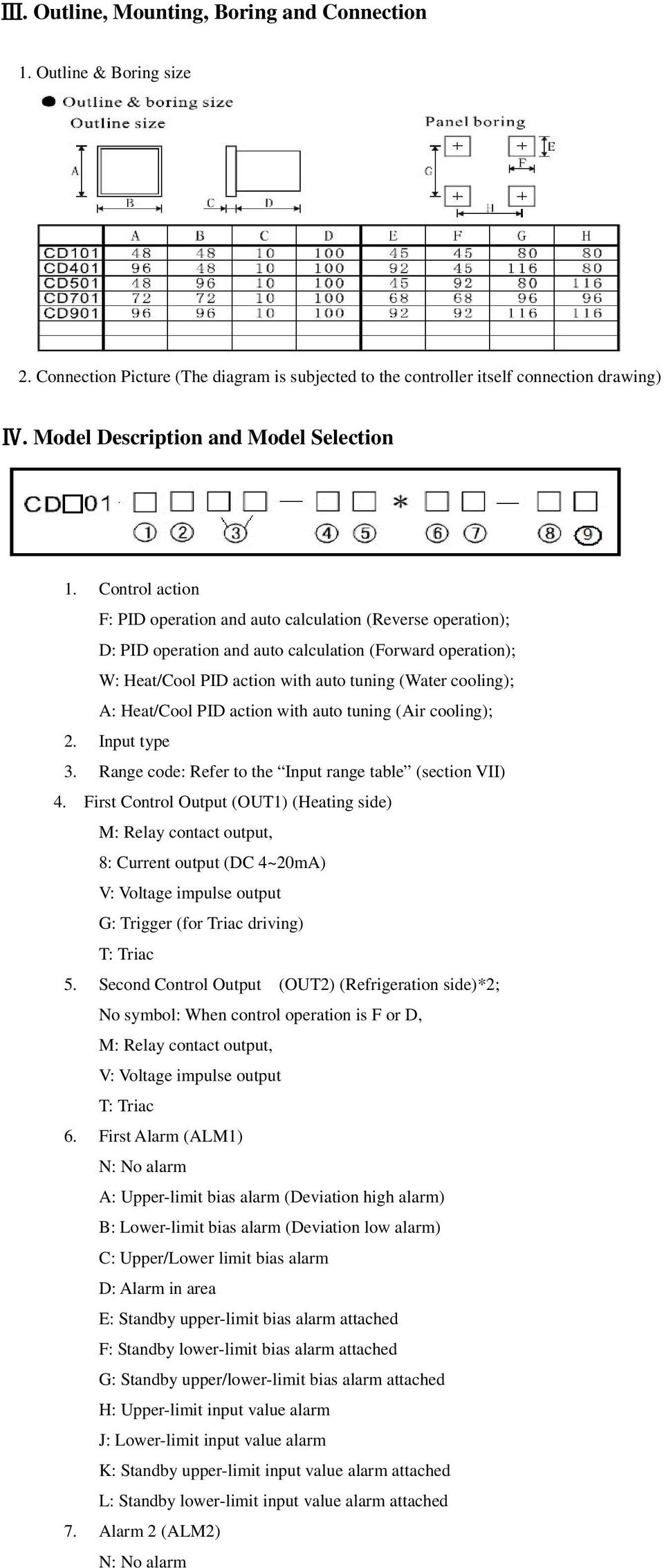 Temperature Controller Cd401 Cd901 Cd701 Cd501 Cd100 Cd101 Pid Wiring Diagram Heat Control Action F Operation And Auto Calculation Reverse D