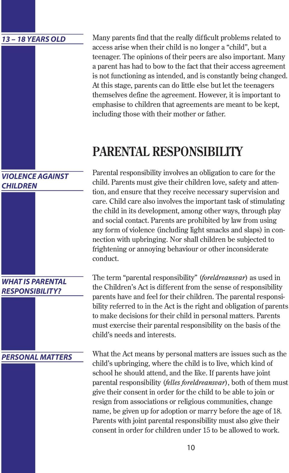 PARENTAL RESPONSIBILITY AND RIGHT OF ACCESS - PDF