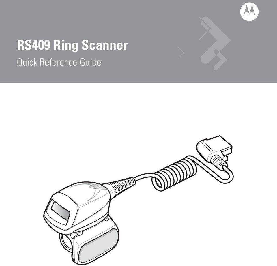 RS409 Ring Scanner  Quick Reference Guide - PDF