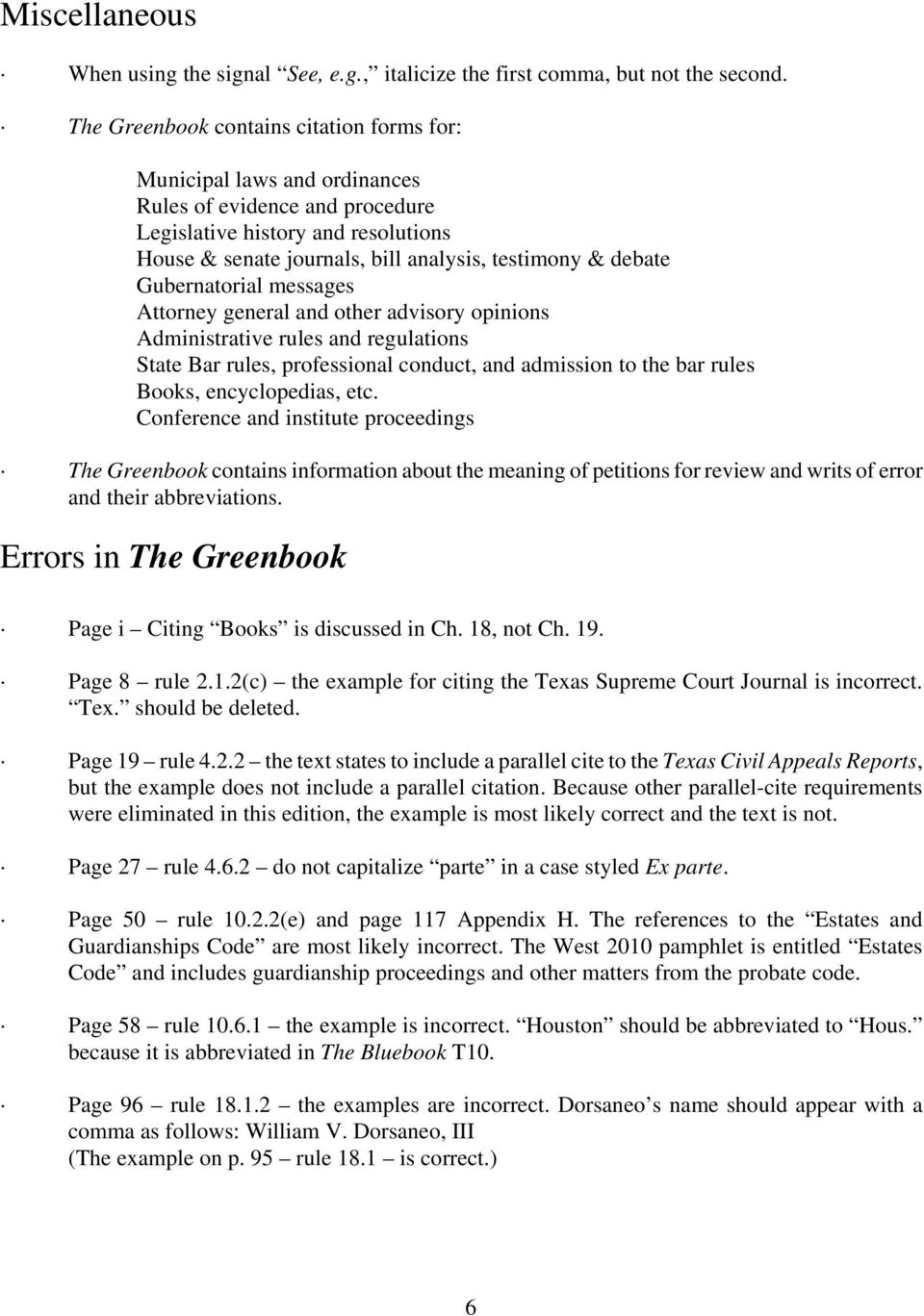 Overview of The Greenbook 12th Edition - PDF