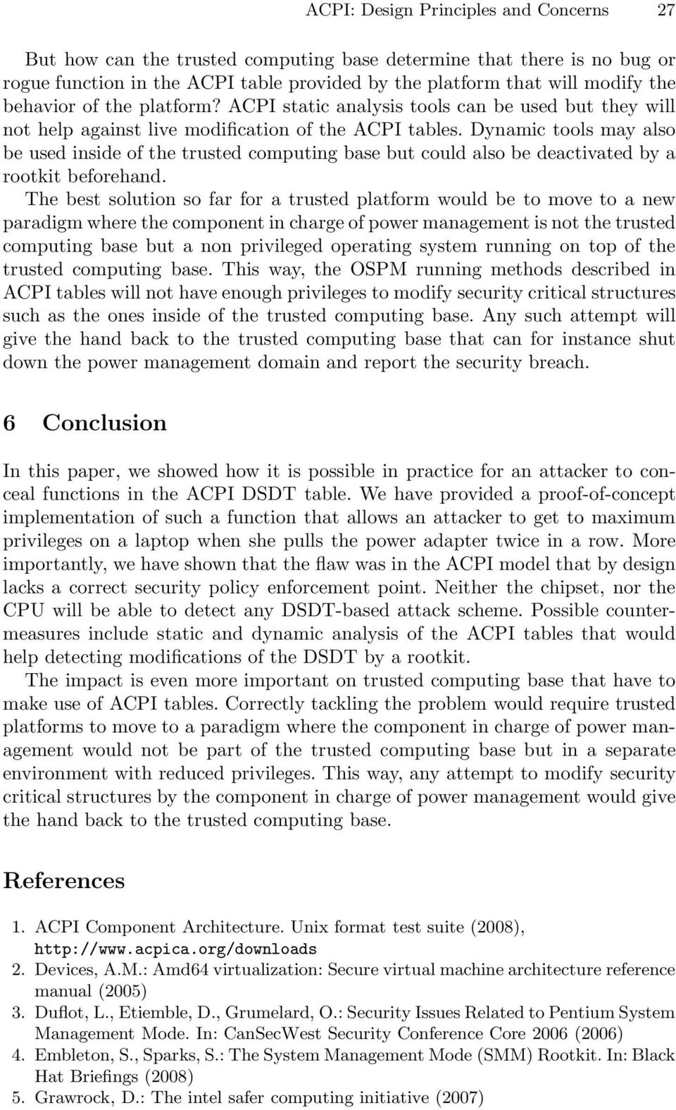 ACPI: Design Principles and Concerns - PDF