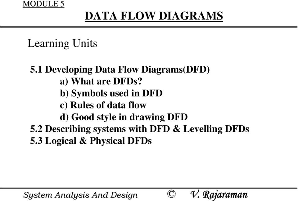 MODULE 5 DATA FLOW DIAGRAMS - PDF