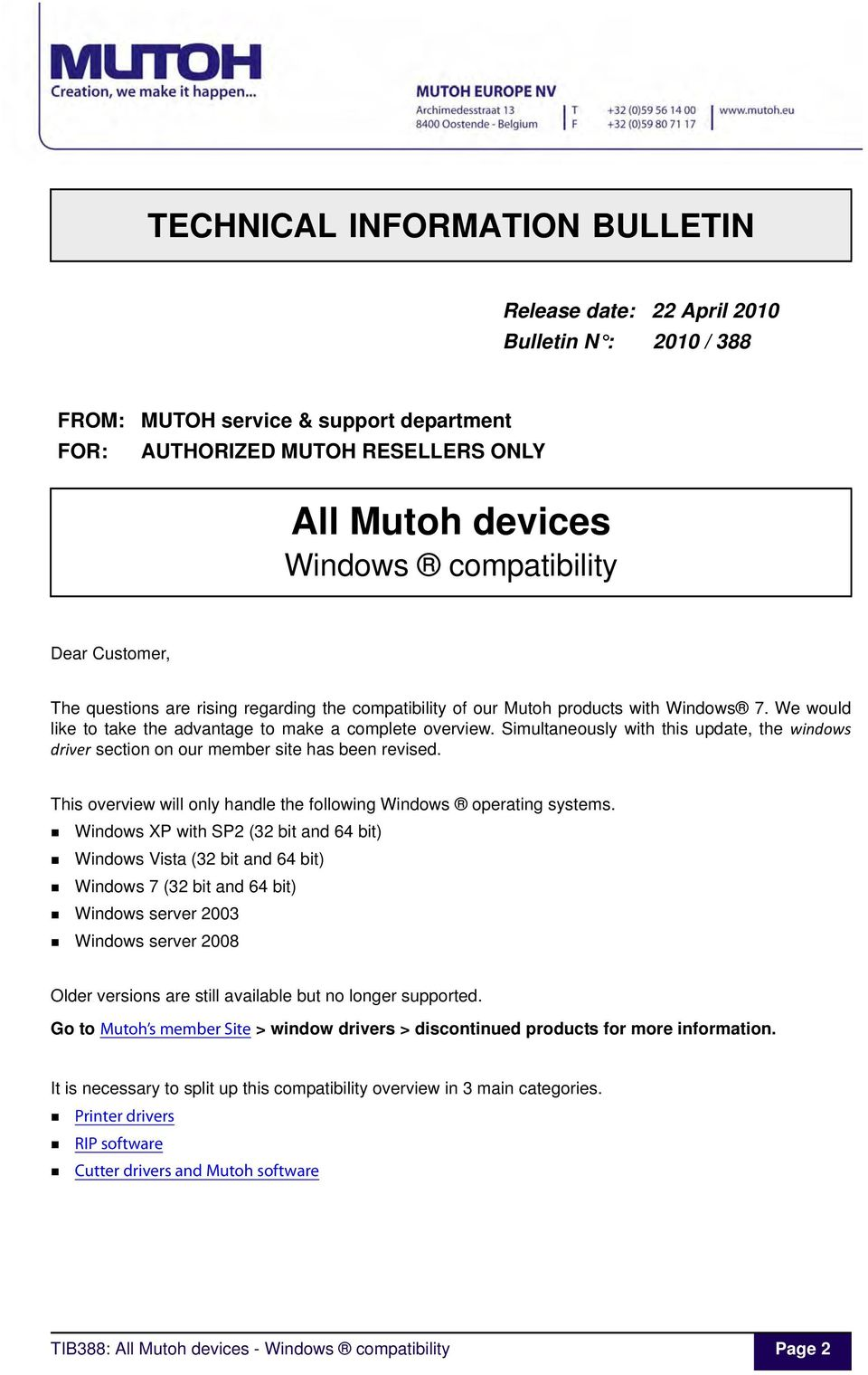 1  TIB388 about the Windows compatibility of all Mutoh devices