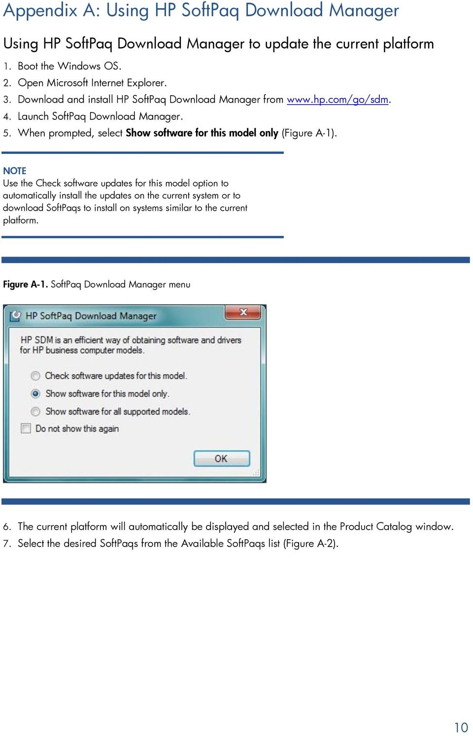 Building a Common Image with Microsoft Windows 7 on HP Pro
