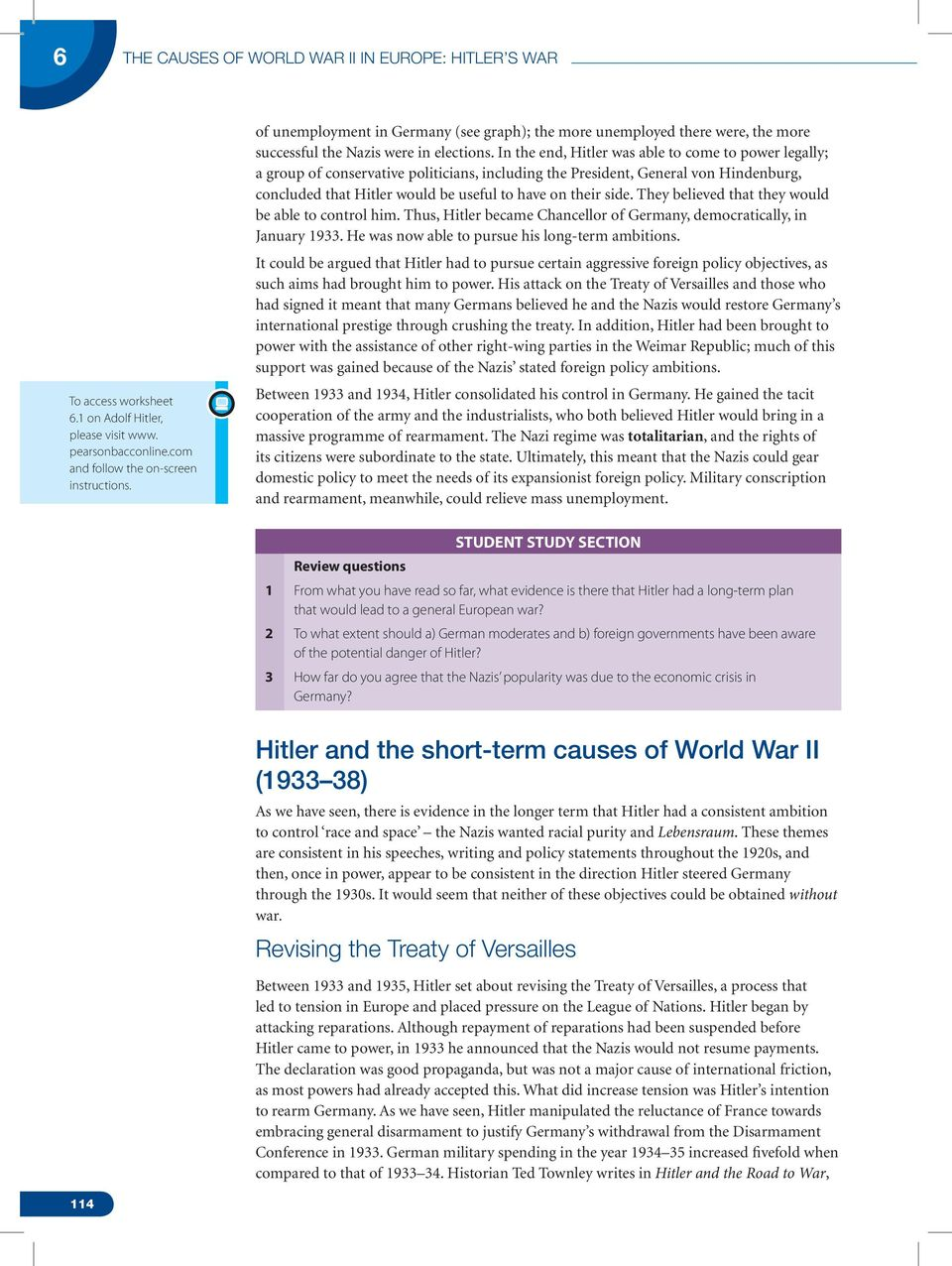 The Causes of World War II - PDF