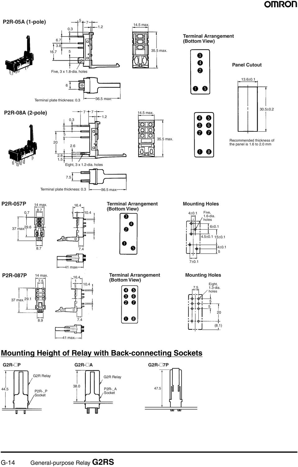 Model Number Structure Pdf Dpdt Relay Datasheet 6 0 Five6 Dia S 3